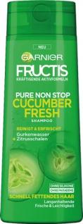 Garnier Fructis Cucumber Fresh Shampoo, für schnell fettendes Haar