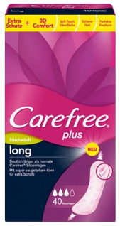 Carefree Plus Long Frischeduft, Slipeinlagen