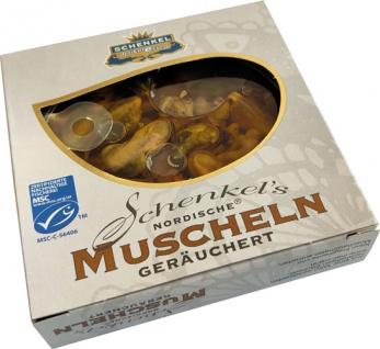 Schenkel MSC Nordische Muscheln geräuchert