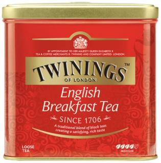 Twinings English Breakfast, Schwarztee, lose
