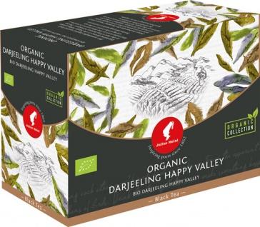 Julius Meinl Bio Darjeeling Happy Valley Big Bag (1 Beutel für ca. 1 lt. Wasser), Schwarztee, Teebe