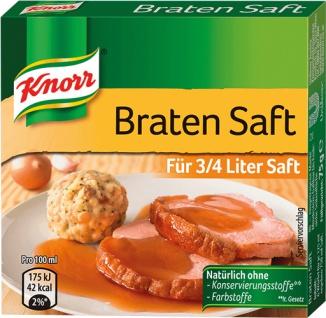 Knorr Bratensaft Würfel, für 3/4 Liter
