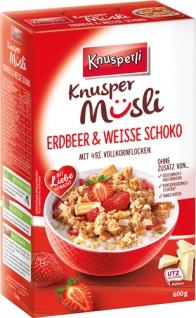 Knusperli Knusper Müsli Erdbeer & Weisse Schoko