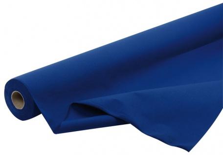 Papier-Tischtuchrolle BLAU (Endlos, abschneidbar), Breite 120 cm, Länge 24 m