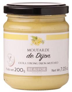 Beaufor Dijon-Senf Moutarde de Dijon, extra-scharf aus Frankreich