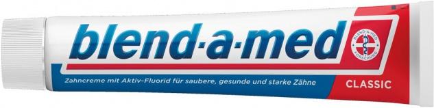 Blend-a-med Classic Rundumschutz, 24h Kariesschutz, Zahncreme