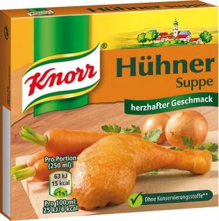 Knorr Hühnersuppe, 6 Würfel