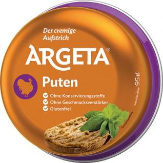 Argeta Pute, Aufstrich, glutenfrei