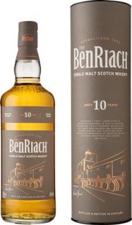 Benriach Single Malt Scotch Whisky Aged 10 Years, 43 % Vol.Alk., Schottland, in Geschenkdose