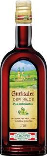 Gurktaler Alpenkräuter Der Milde, Kräuterlikör, 27 % Vol.Alk.
