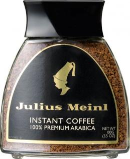 Julius Meinl Instant Coffee, 100 % Premium Arabica, Löskaffee (8er Packung)