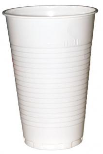 Trinkbecher 0, 25 / 0, 3 Liter, Plastik weiß