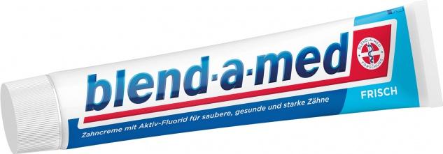 Blend-a-med Extra Frisch Clean Rundumschutz, 24h Kariesschutz, Zahncreme