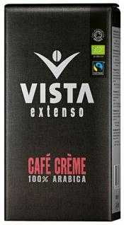Tchibo Vista Extenso Fairtrade Bio Café Crème, Ganze Bohne