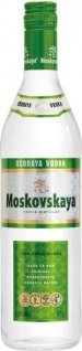Moskovskaya Osobaya Vodka, triple distilled, 38 % Vol.Alk., Lettland