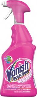 Vanish OxiAction Multi-Flecken Color, Vorwaschspray ohne Chlor, Pumpe