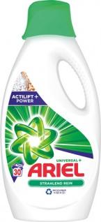 Ariel Universal+ Strahlend Rein Actilift Power, Vollwaschmittel, flüssig 30 WG