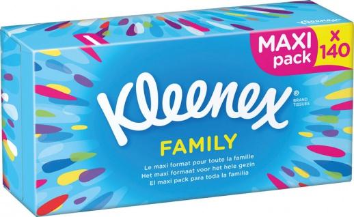 Kleenex Original Family Taschentücher-Box, 3-lagig