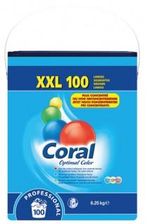 Coral Optimal Color Professional, Buntwaschmittel-Pulver 100 WG