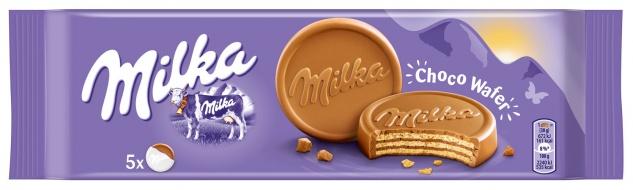 Milka ChocoWafer, 5 Stück
