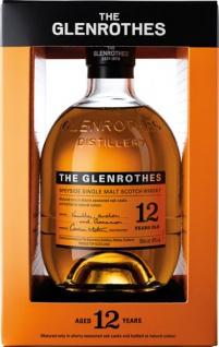 Glenrothes Speyside Single Malt Scotch Whisky 12 Years, 40 % Vol.Alk., Schottland