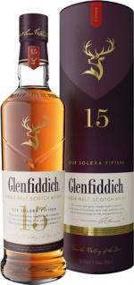 Glenfiddich Unique Solera Reserve Scotch Whisky 15 Years, 40 % Vol.Alk., Schottland, in Geschenkdos