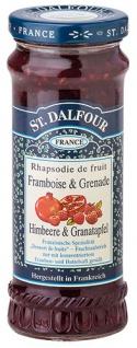 St. Dalfour Fruchtaufstrich Himbeere & Granatapfel - Vorschau