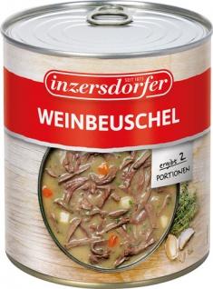 Inzersdorfer Weinbeuschel, 2 Portionen