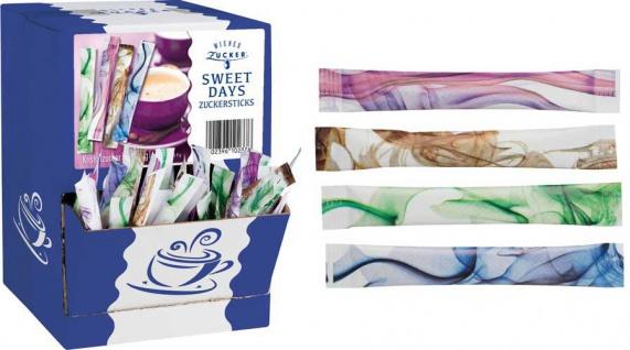 Wiener Zucker Sweet Days, 500 Sticks à 4 g, Display-Karton