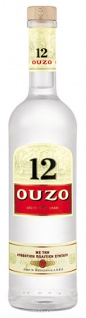 Ouzo 12, Griechische Anis-Spirituose, 38 % Vol.Alk.