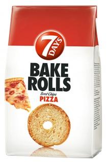 7 Days Bake Rolls Pizza, Brotchips