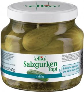 Efko Salzgurken Topf