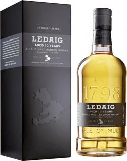 Ledaig Single Malt Scotch Whisky 10 Years, 46, 3 % Vol.Alk., Schottland, im Geschenkkarton