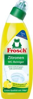 Frosch Zitronen WC-Reiniger BIO, gegen Kalk und Urinstein