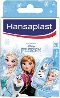 Hansaplast Kids FROZEN Pflaster, 14 Strips 19 x 55 mm, 6 Strips 30 x 55 mm