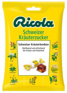 Ricola Schweizer Kräuterzucker, Schweizer Kräuterbonbons