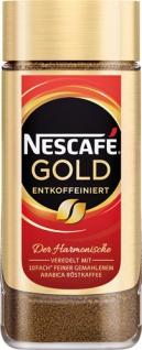 Nescafé Gold Entkoffeiniert, Löskaffee
