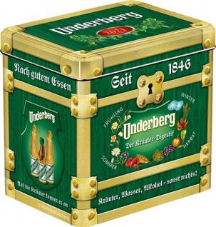 Underberg Kräuterlikör MINI, 44 % Vol.Alk., 12 x 20 ml