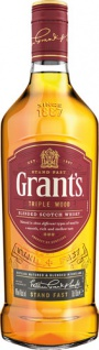 Grant's Stand Fast Triple Wood, Blended Scotch Whisky, 40 % Vol.Alk., Schottland