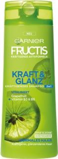 Garnier Fructis Kraft & Glanz Kräftigendes Shampoo, für normales Haar