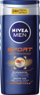 Nivea Men Sport, Pflegedusche für Körper, Gesicht & Haar