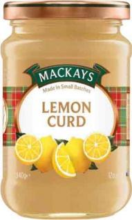 MacKays Lemon Curd, Zitronenmarmelade