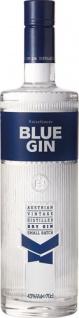 Reisetbauer Blue Gin, Austrian Vintage distilled Dry Gin, 43 % Vol.Alk., Österreich