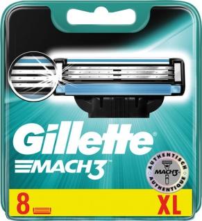 Gillette Mach3 Systemklingen, passend für Mach3-Rasierer