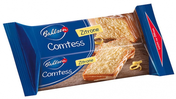 Bahlsen Comtess Zitrone, Kuchen