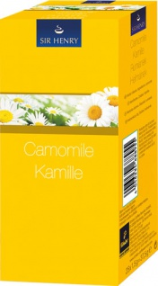 Sir Henry Tchibo Kamille, Kräutertee, Teebeutel im Kuvert, 2. Entnahmefach/displaytauglich