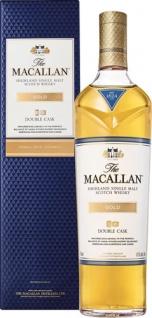Macallan Gold Highland Single Malt Scotch Whisky Double Cask, 40 % Vol.Alk., Schottland