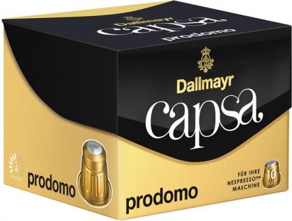 Dallmayr Capsa Prodomo 6, Nespresso-kompatibel, 10 Kaffeekapseln