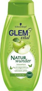 Glem Vital Naturwunder Grüner Apfel, Shampoo für normales Haar