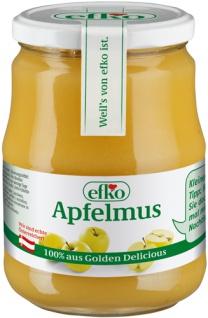 Efko Apfelmus, 100 % aus Golden Delicious